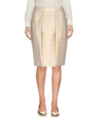 Moschino Knee Length Skirt In Beige