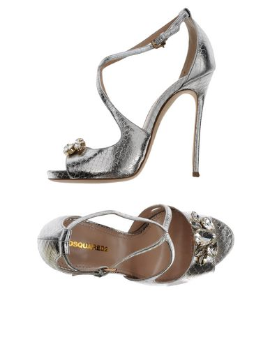 Dsquared2 Sandals In Silver