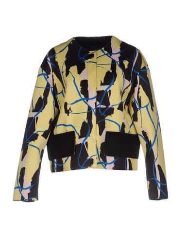 Cedric Charlier Jackets In Yellow