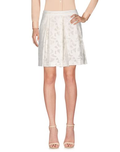 Paul & Joe Knee Length Skirt In White