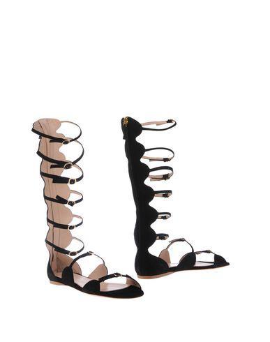 Giambattista Valli Sandals In Black