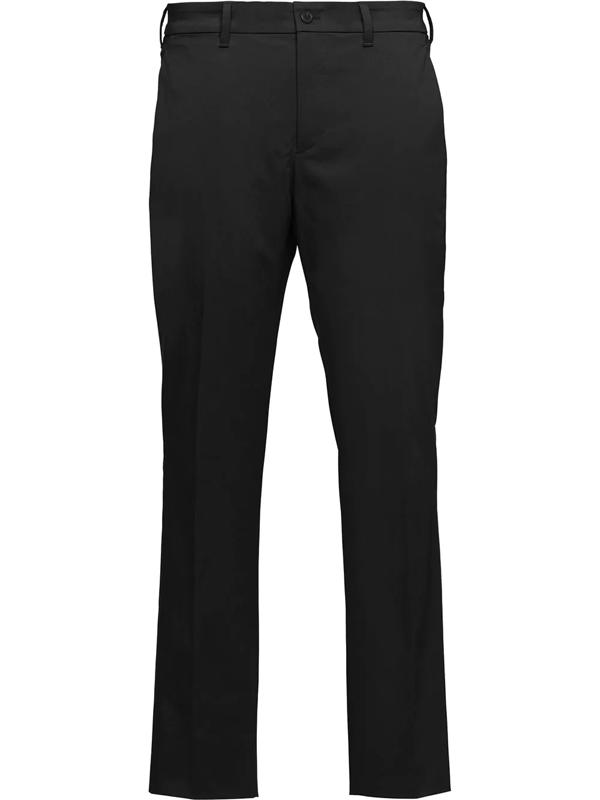 Prada Straight-leg Tailored Trousers In Black