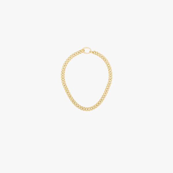 Laura Lombardi Gold-plated Presa Chain Necklace