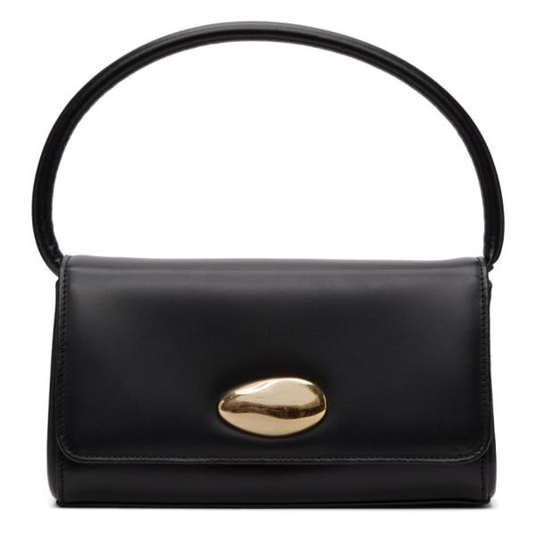 Little Liffner Baguette Mini Leather Shoulder Bag In Black