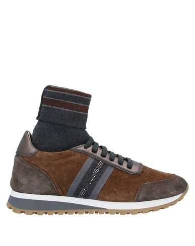 Eleventy Sneakers In Brown
