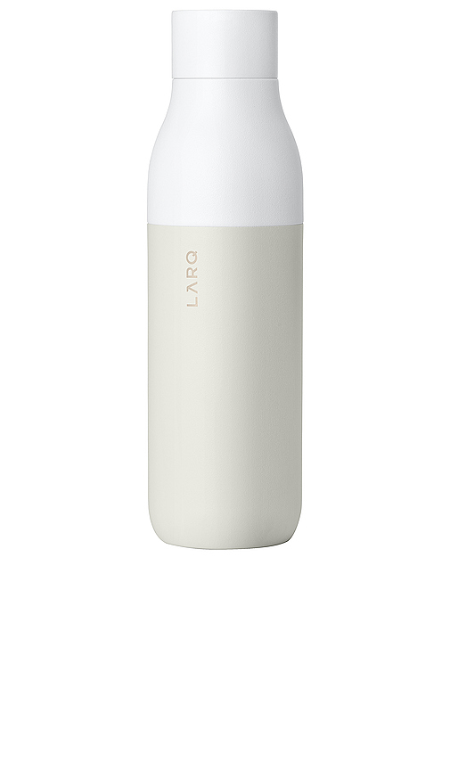 Larq Self Cleaning 17 oz Water Bottle In Granite White