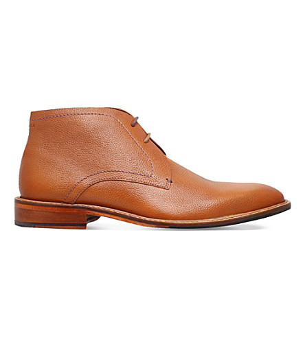 f186fa929708 Ted Baker Torsdi 4 Leather Desert Chukka Boots In Tan