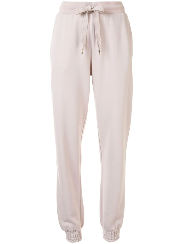 The Upside Florencia Cotton-blend Trackpants In Neutrals