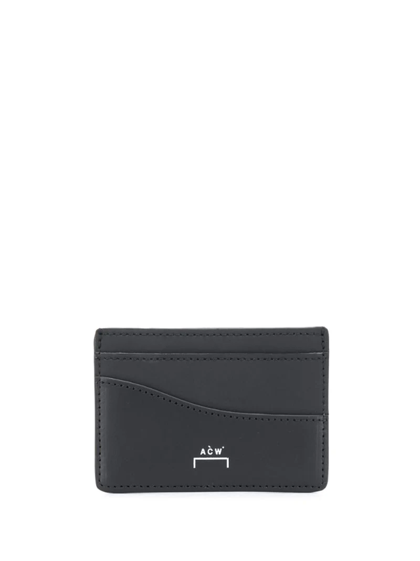 A-cold-wall* Logo Debossed Cardholder In Black