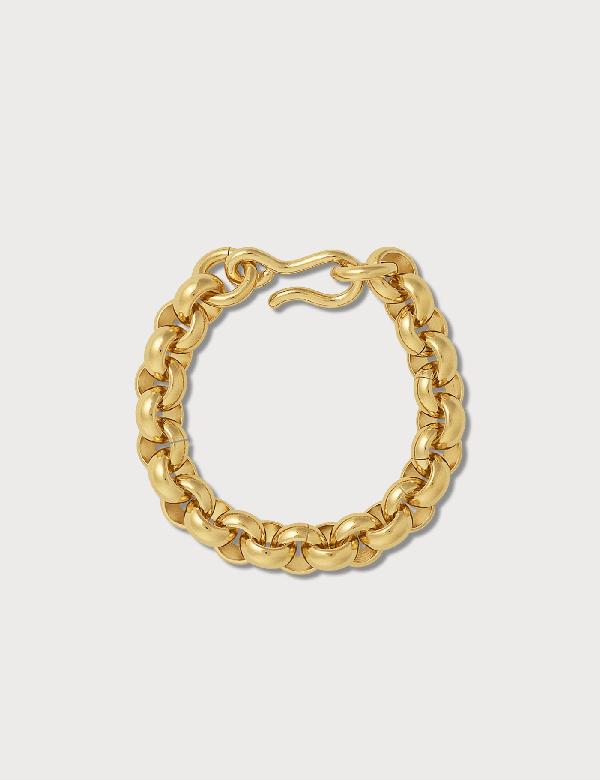 Laura Lombardi Piera Chain Bracelet In Gold