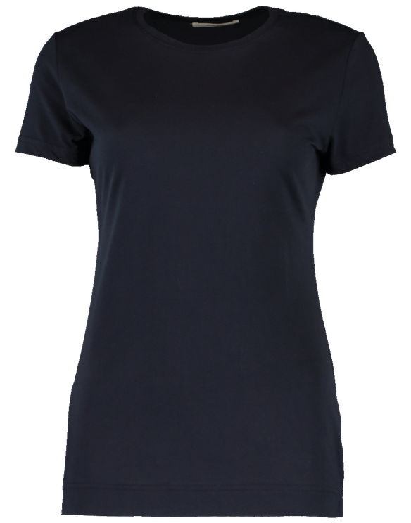 Adam Lippes Crewneck T-shirt In Blue