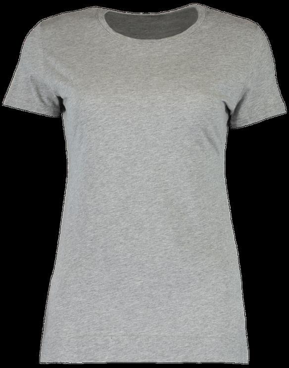 Adam Lippes Crewneck T-shirt In Grey