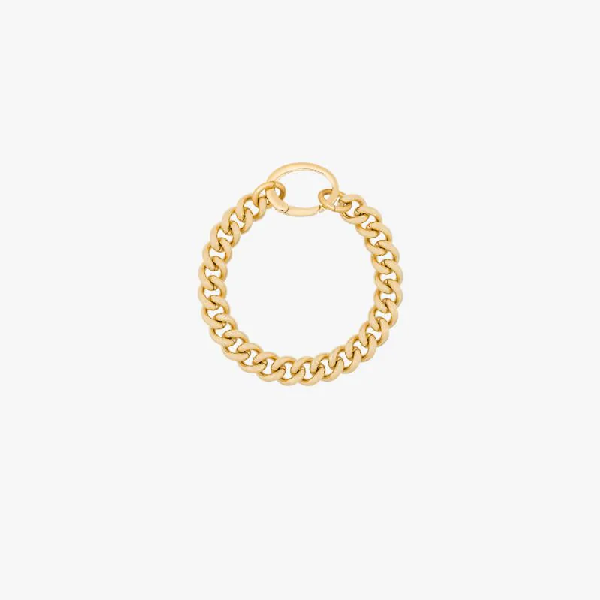 Laura Lombardi Gold-plated Presa Bracelet