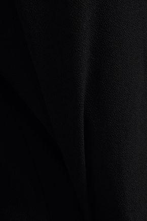 Ba&sh Cutout Crepe  Jumpsuit In Black
