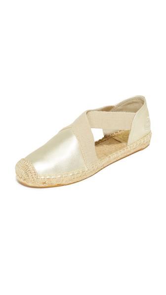 d018881d6ee Tory Burch Catalina Metallic Espadrille Sandal In Spark Gold Natural ...