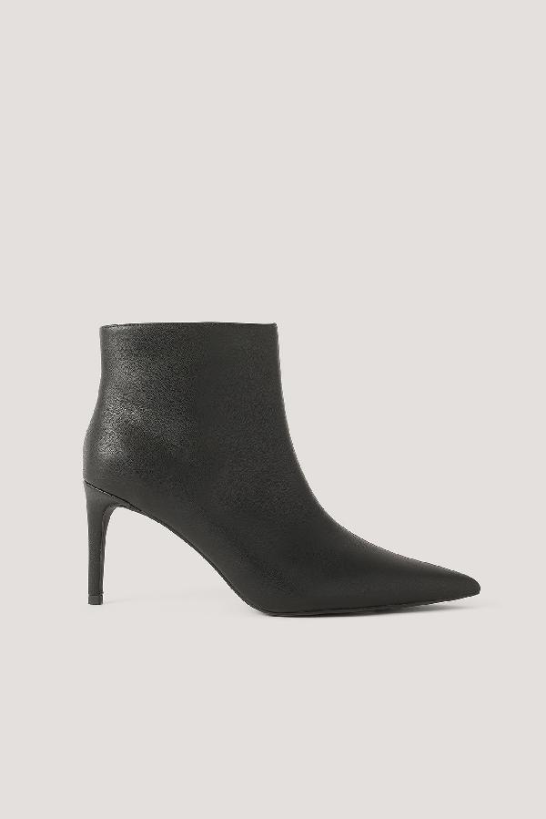 Na-kd Slim Pointy Stiletto Boots Black