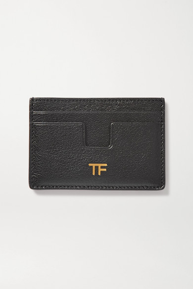 Tom Ford Classic Tf Card Holder In Black