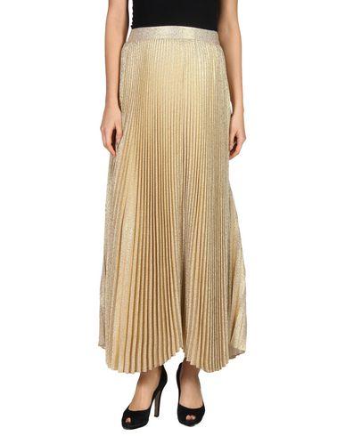 90d301ede Alice And Olivia Katz Metallic Pleated Maxi Skirt In Gold | ModeSens