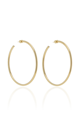 Jennifer Fisher Classic 14k Gold-plated Hoop Earrings