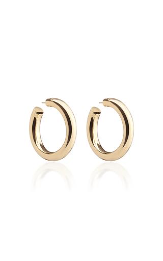 Jennifer Fisher Baby Jamma 14k Gold-plated Hoop Earrings