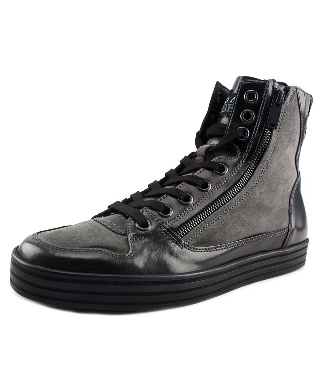 Hogan Rebel 141 N.lavoraz. Zip Laterale Suede Fashion Sneakers In ...