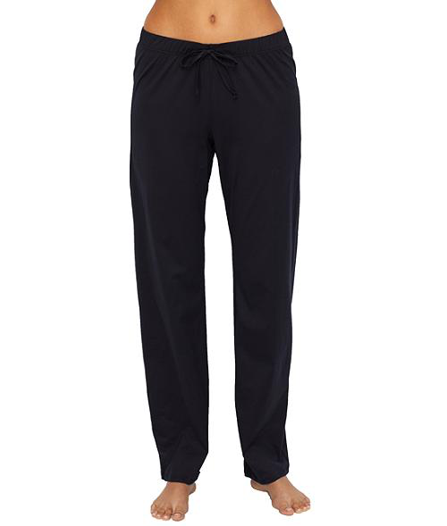 Hanro Cotton Deluxe Lounge Pants In Cement