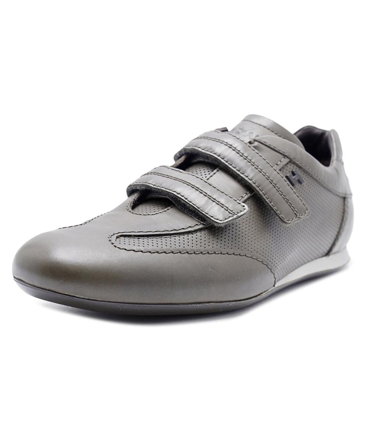 taille 40 04f6b 604e0 Hogan Olympia Mod Strap H Iniettata Round Toe Synthetic Sneakers' in Grey