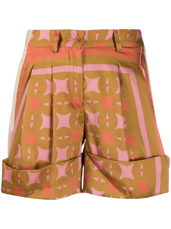 Jejia Shorts Mit Print In Brown