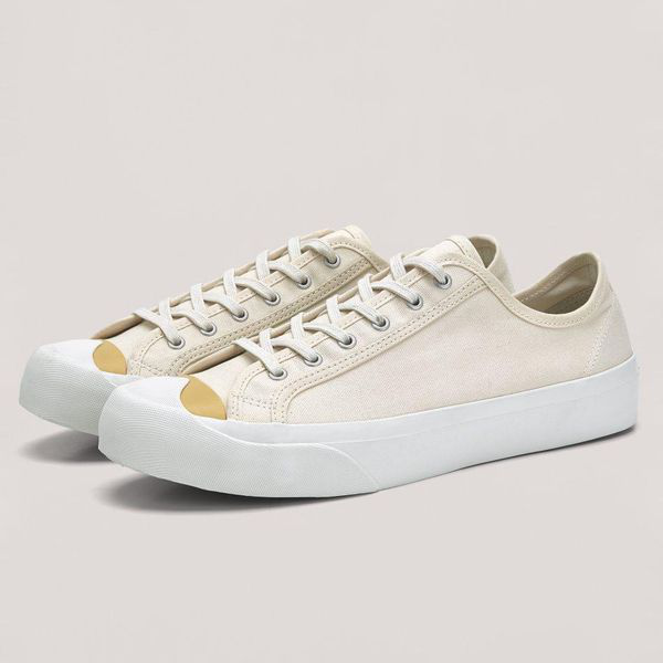 Ymc You Must Create Women's Colour Toe Wing Tip Trainer In Neutral