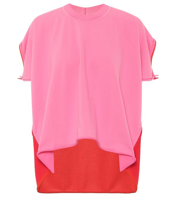 Bottega Veneta Bicolor Top In Pink
