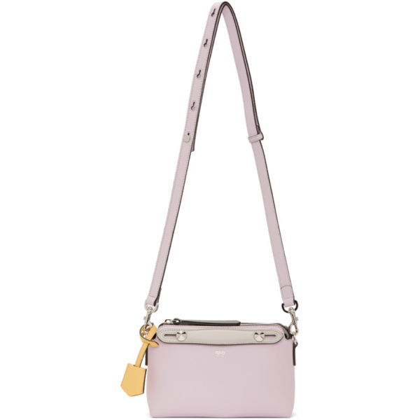 Fendi By The Way Mini Bag In Lilac Color In F1bzk Anemo
