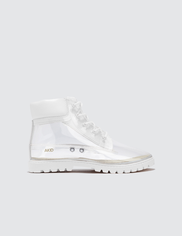 Akid Atticus Tpu Boots In White