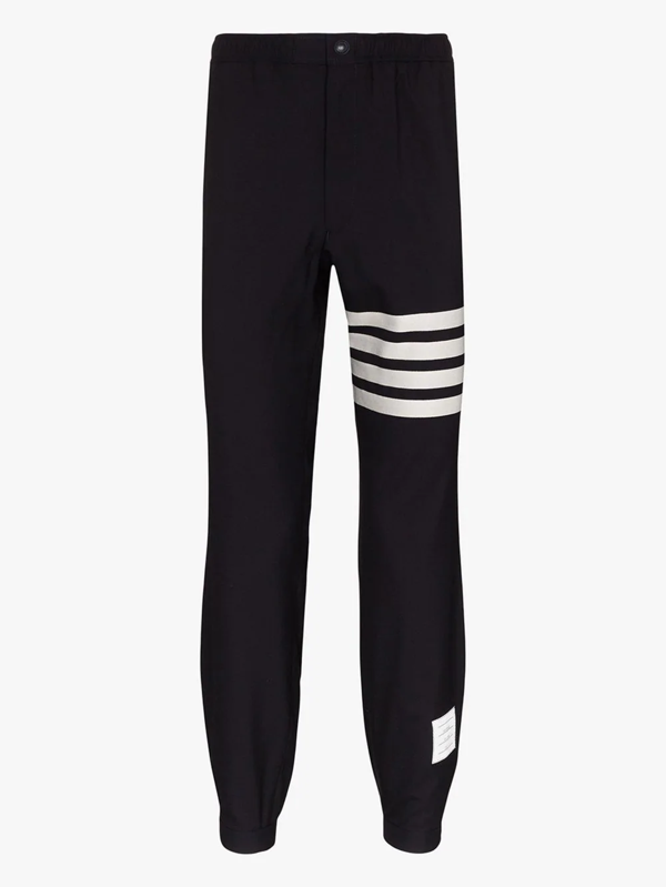 Thom Browne Engineered Stripe Classic Sweatpants In Blue