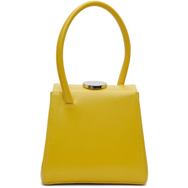 Little Liffner Mademoiselle Bag In Citrus