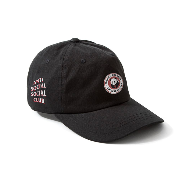 Pre-owned Anti Social Social Club  X Panda Black Cap Black