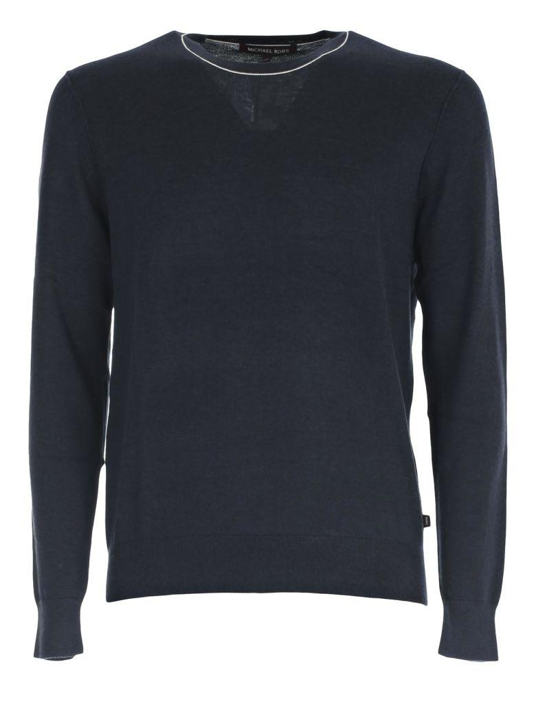 Michael Kors Sweater In Midnight Melange