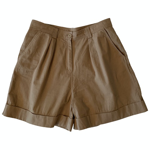 Pre-owned By Timo Brown Cotton Shorts