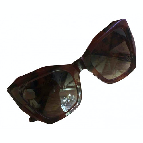 Pre-owned Kyme Brown Sunglasses