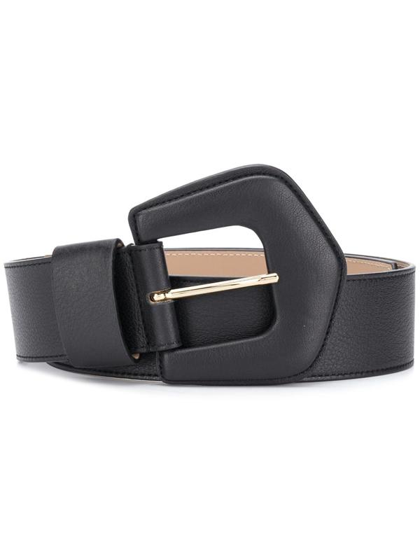 B-low The Belt Bret Leather Belt In Black