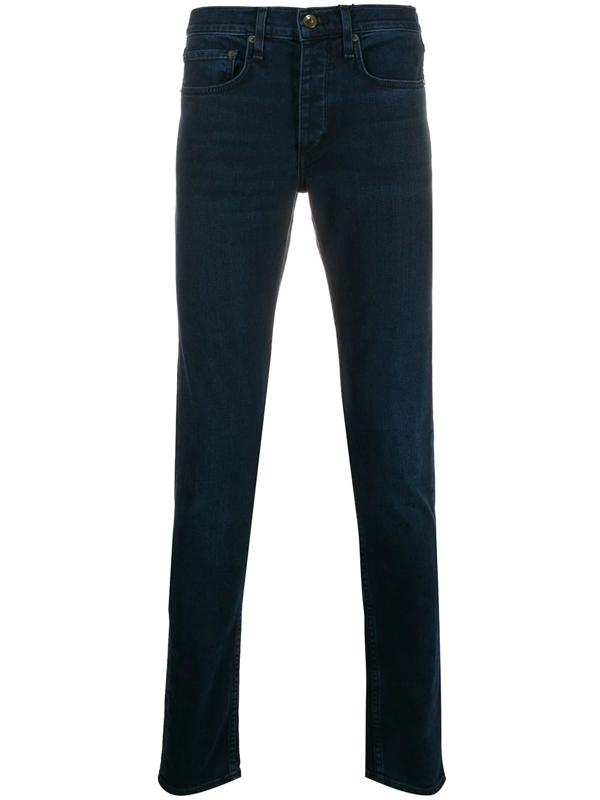 Rag & Bone Fit 1 Extra Slim Fit Jeans In Blue