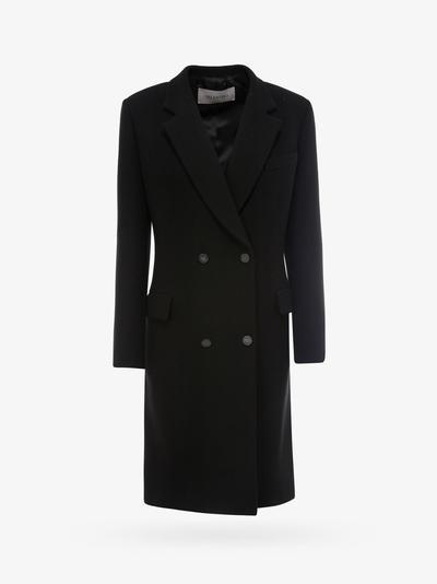 Valentino Coat In Black