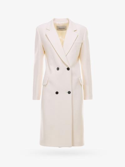 Valentino Coat In White