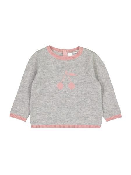Bonpoint Kids Pullover For Girls In Grey