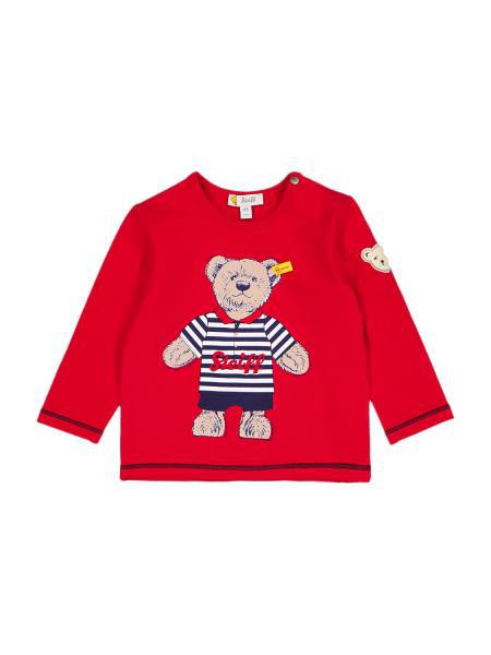 Steiff Babies' Kids Long-sleeve For Boys In Red