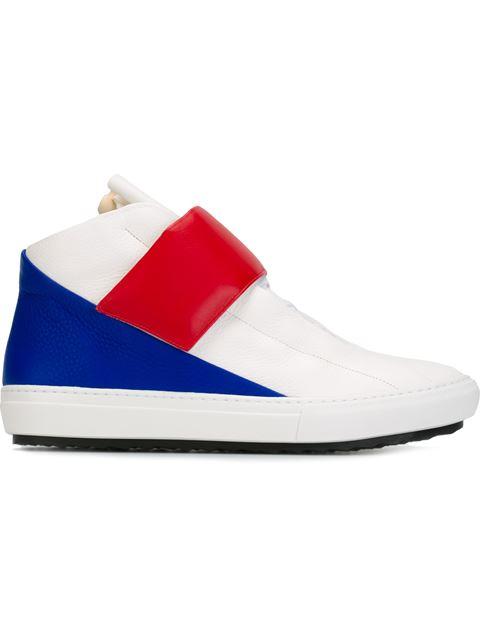 Pierre Hardy Hi-top Sneakers In White