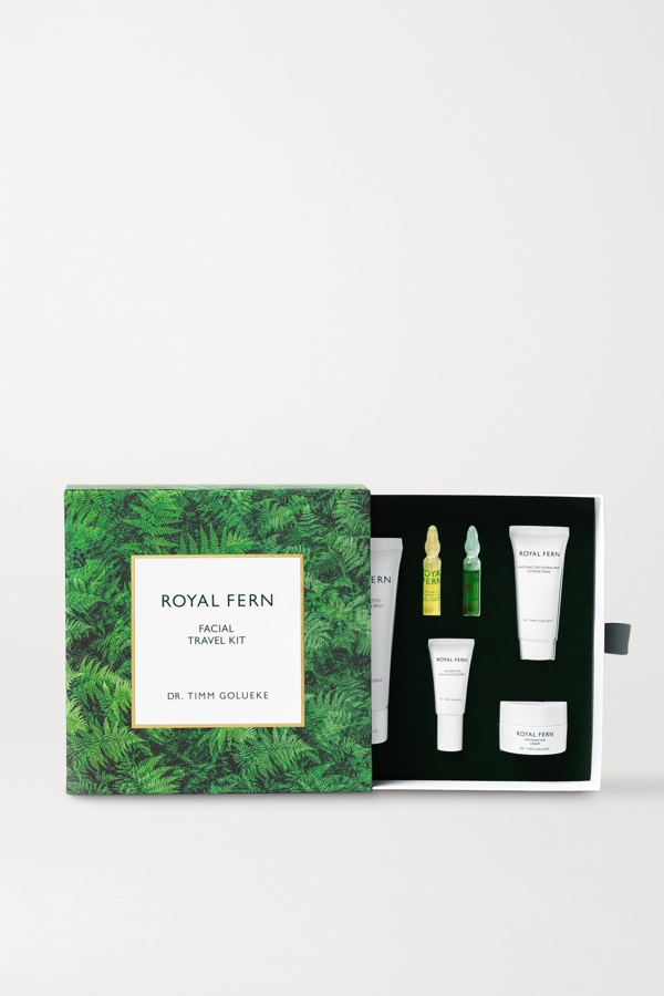 Royal Fern Facial Travel Kit In Colorless