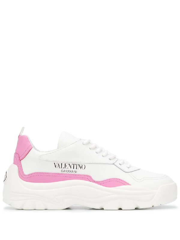Valentino Garavani Gumboy Low-top Sneakers In White