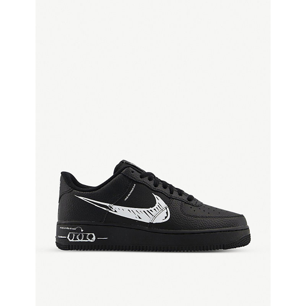 Nike Air Force 1 Lv8 Utility Sneakers Cw7581-001 In Black White ...