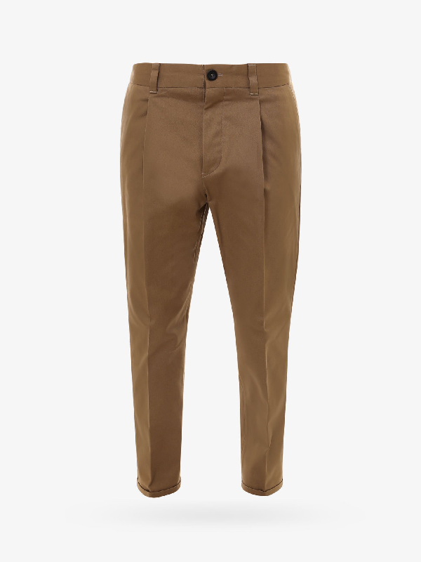 Pt01 Trouser In Brown