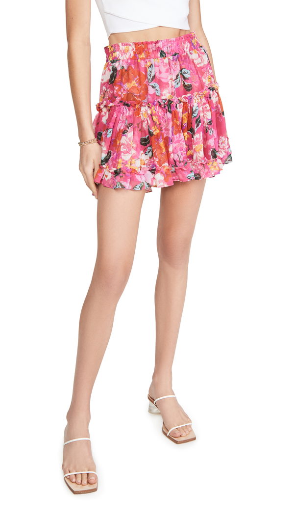 Misa Marion Skirt In Rose Garden